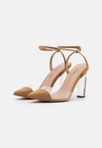 Dorothy Perkins - ETSIE PERSPEX HEEL COURT - High heels - nude - 2
