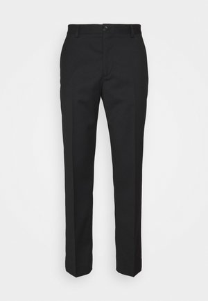 JERRY TROUSER - Trousers - black