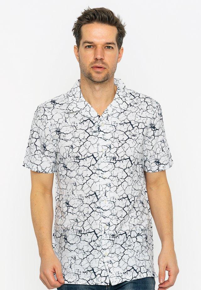 Overhemd - white black