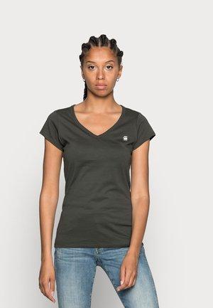 EYBEN SLIM - T-shirt basic - asfalt