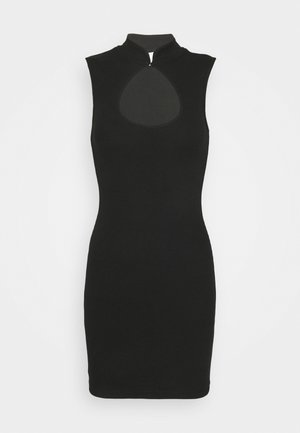 CUT OUT DRESS - Day dress - black