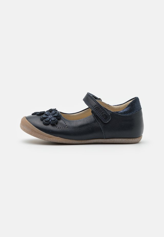 ANA - Ankle strap ballet pumps - dark blue