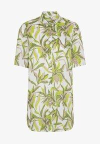 Eterna - MODERN CLASSIC - Button-down blouse - grün/weiss - 2