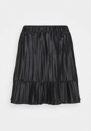PCNIKA - Mini skirt - black
