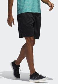 adidas Performance - ALL SET 2 DESIGNED2MOVE SHORTS - Shorts - black - 2