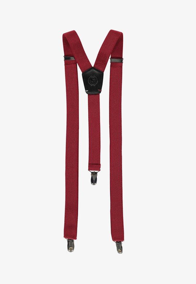 Belt - wine red