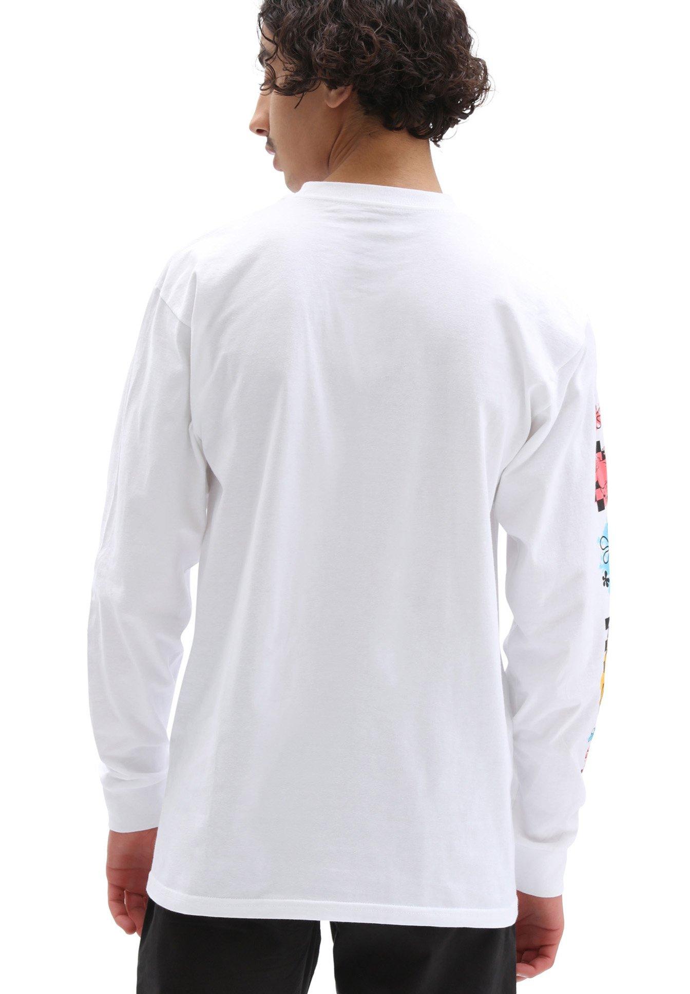 Uomo MN VANS X SPONGEBOB AIRBRUSH LS - Maglietta a manica lunga
