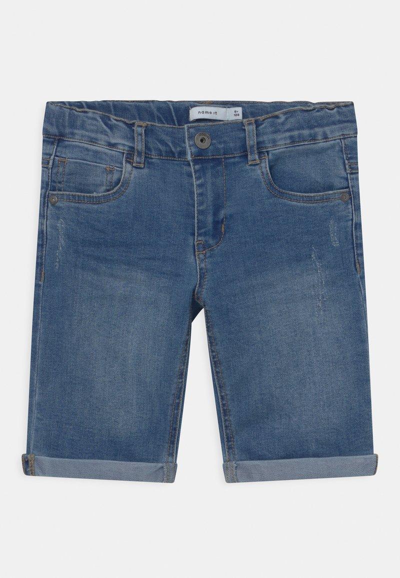Name it - NKMSOFUS  - Jeansshort - light blue denim