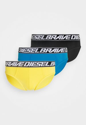 UMBR-ANDRETHREEPACK MUTANDE 3 PACK - Briefs - yellow/blue/black