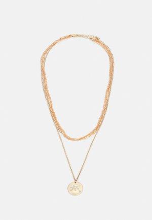 PCSANNI COMBI NECKLACE - Smykke - gold-coloured