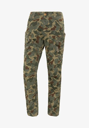 ROVIC AIRFORCE RELAXED - Cargo trousers - sage/battle green