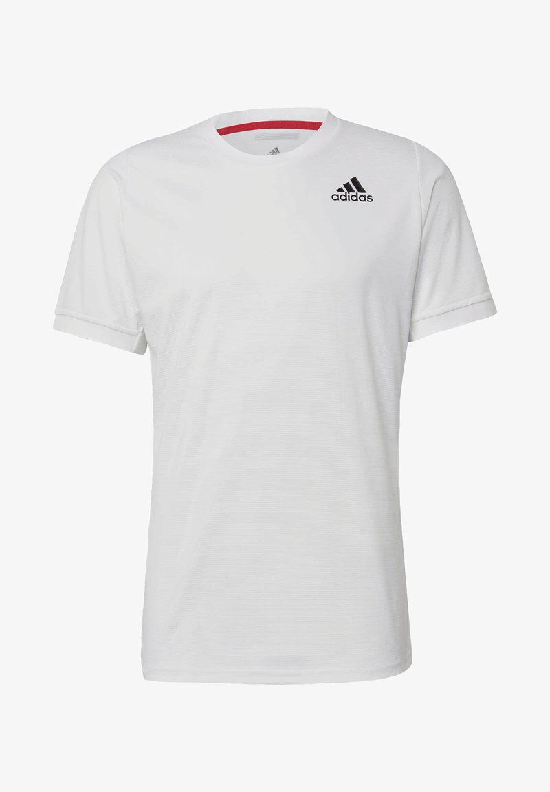 adidas Performance - FREELIFT SOLID TENNIS T-SHIRT HEAT.RDY - Basic T-shirt - white
