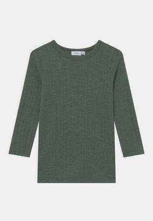 NMMWANG  - Long sleeved top - duck green