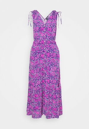 RUCHED - Maxi dress - purple