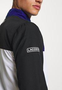 Lacoste Sport - SET - Dres - black/white/cosmic - 6