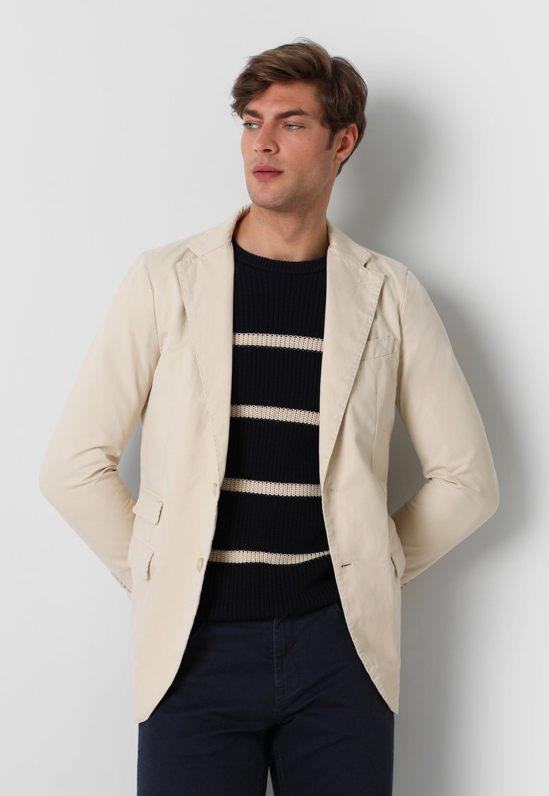Scalpers - WITH DOUBLE POCKET - Blazer jacket - beige
