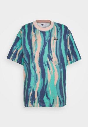TEE UNISEX - Camiseta estampada - vapour pink/multicolor