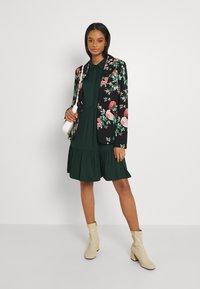 Vila - VIMOROSE SHIRT DRESS - Day dress - darkest spruce - 1