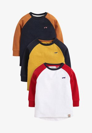 3 PACK - Long sleeved top - blue