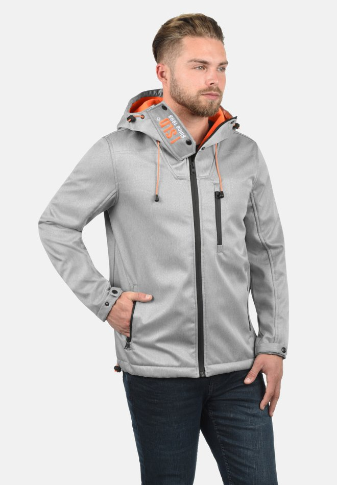 Solid - IACOPO - Light jacket - light grey