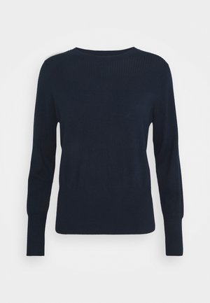 STITCH JUMPER - Jumper - dark blue
