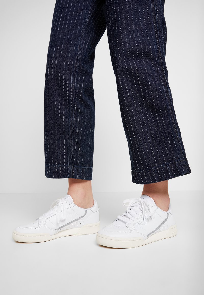 adidas Originals - CONTINENTAL 80  - Trainers - footwear white/chalk white/silver metallic