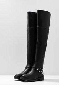 Even&Odd - Høye støvler - black - 4