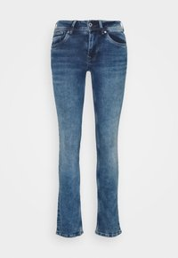 HOLLY - Straight leg jeans - medium used wiser wash