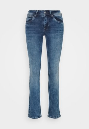 HOLLY - Jeans a sigaretta - medium used wiser wash