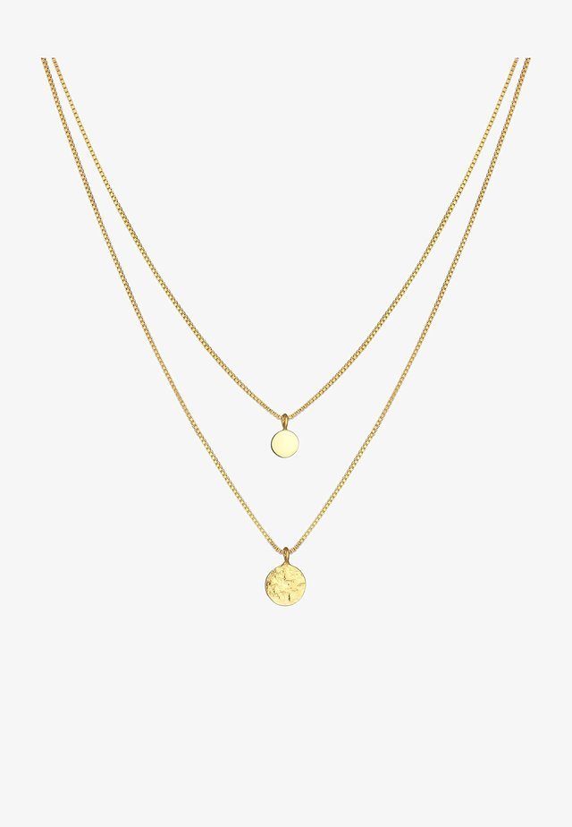 COIN STRUCTURE - Ketting - gold