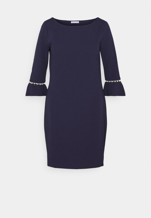 Žerzejové šaty - evening blue