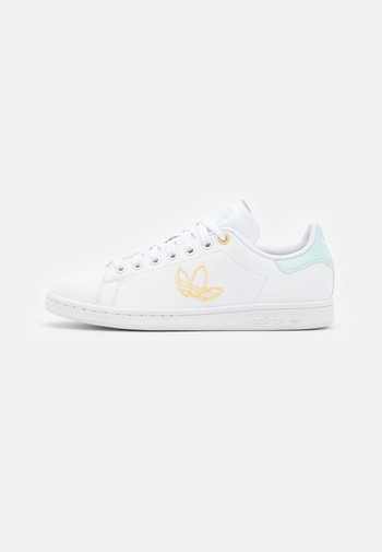 STAN SMITH  - Sneakers basse - footwear white/halo mint/orange tint