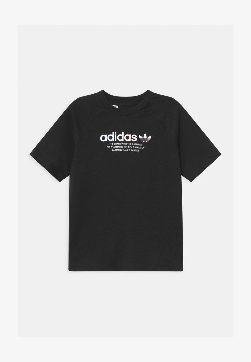 adidas Originals - UNISEX - T-shirt med print - black