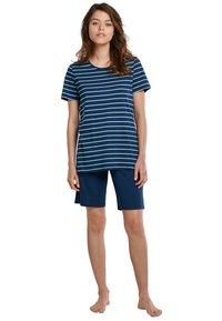 Schiesser - Pyjama set - blue - 0