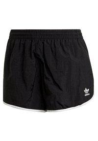 adidas Originals - 3 STRIPES ADICOLORSHORTS - Shorts - black - 6