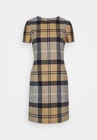 Barbour - DEE DRESS - Pouzdrové šaty - oatmeal - 0