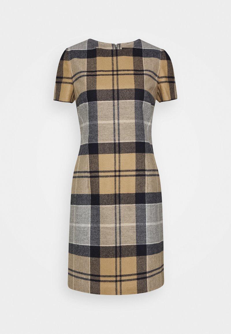 Barbour - DEE DRESS - Pouzdrové šaty - oatmeal