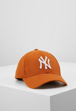 MLB NEW YORK YANKEES '47 SNAPBACK UNISEX - Czapka z daszkiem - burnt orange