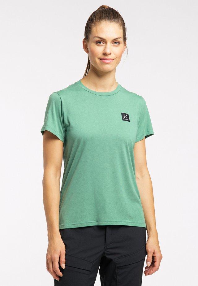 Basic T-shirt - trail green