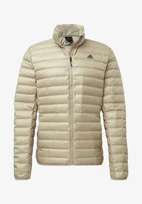 adidas Performance - VARILITE OUTDOOR DOWN - Down jacket - beige - 8