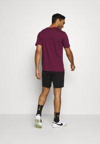 Nike Performance - PARIS ST GERMAIN DRY - Sportovní kraťasy - black/truly gold - 2