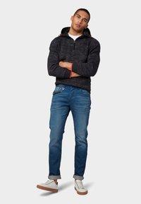 TOM TAILOR - Slim fit jeans - blue denim - 1