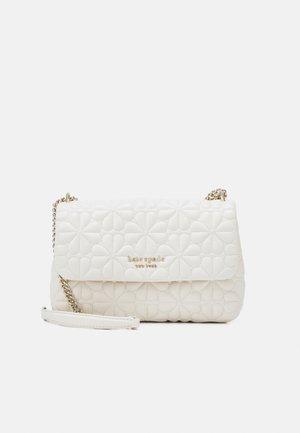 FLAP SHOULDER - Käsilaukku - ivory