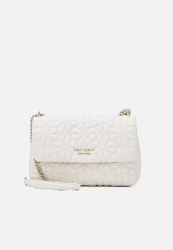 FLAP SHOULDER - Handbag - ivory