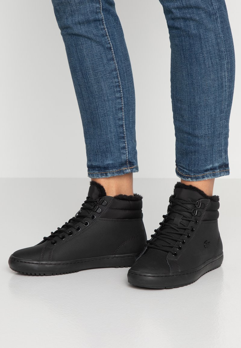 Lacoste - High-top trainers - black