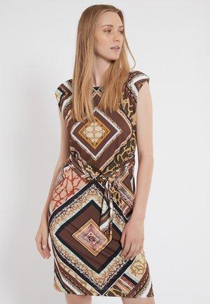 ZINOS - Jersey dress - brown