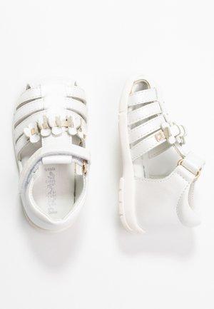 Lær-at-gå-sko - bianco