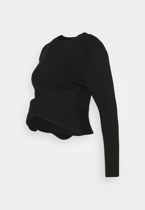 CROSSOVER  - Sweater - black