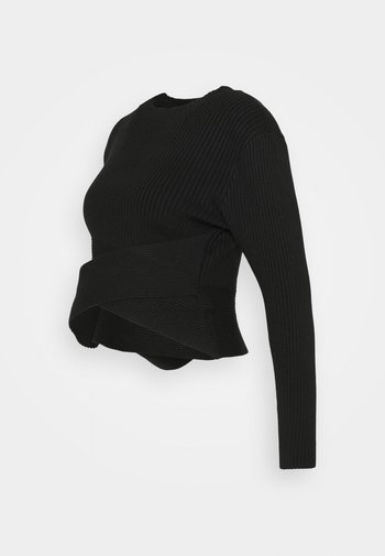 CROSSOVER  - Sweatshirt - black