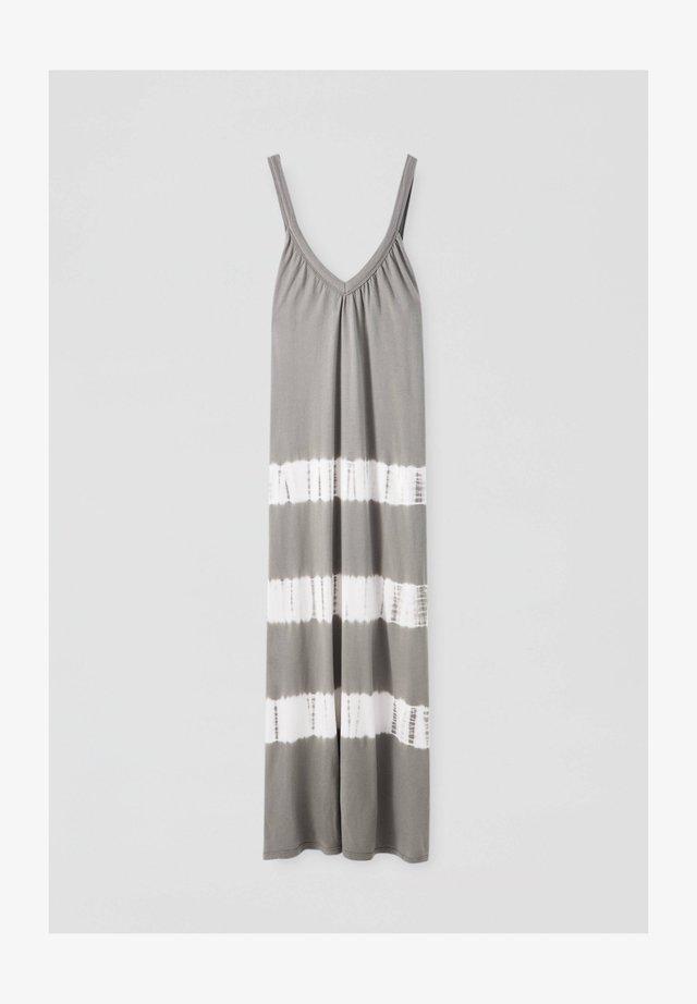 Długa sukienka - light grey
